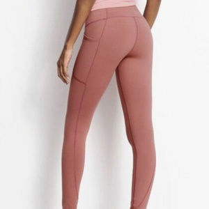 VS Power Mesh Med Rise Knockout Tight Witherd Rose